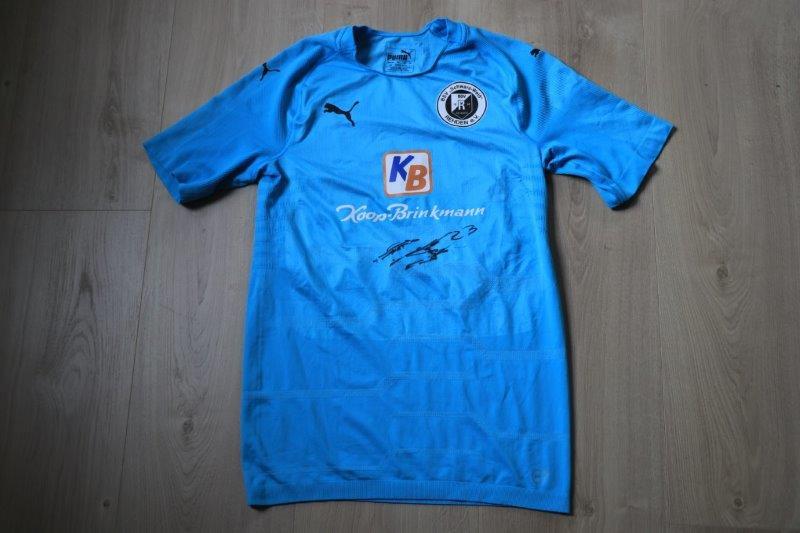 BSV Rehden 18-19 Away signiert, Nr. 23 Hohnstedt (Matchworn)
