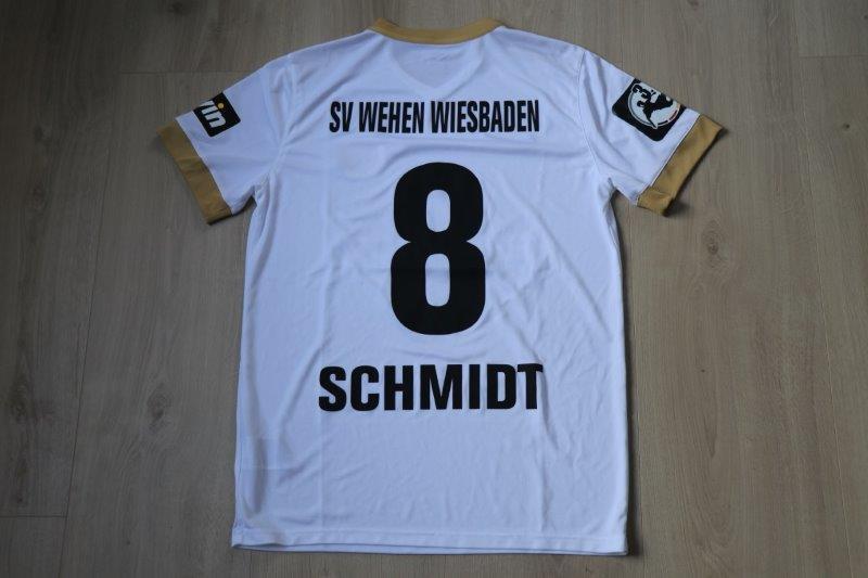 SV Wehen Wiesbaden 2018/19 Away, Nr. 8 Schmidt (Matchworn)