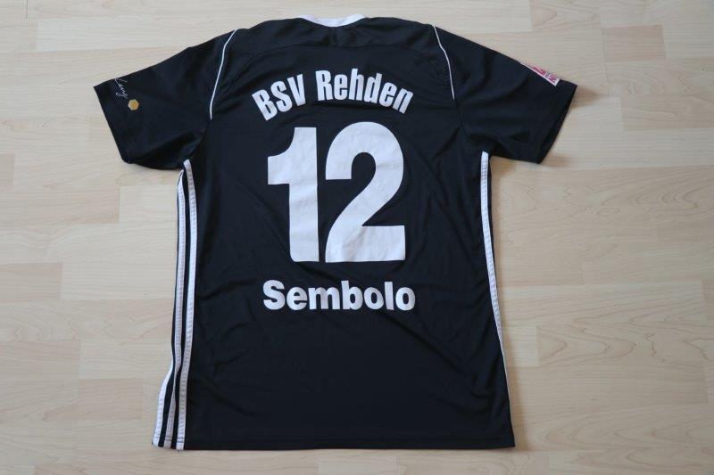 BSV Rehden 17-18 Away, Nr. 12 Sembolo (Matchworn)