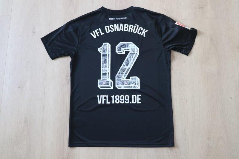 VfL Osnabrück 2020/21 Away, Nr. 12 Sonderbeflockung