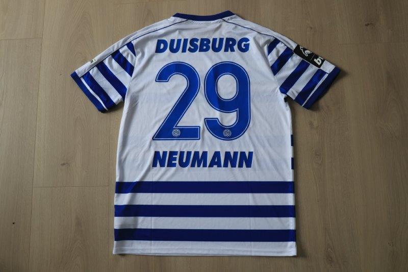 MSV Duisburg 2019/20 Heim, Nr. 29 Neumann (Matchworn gg. Zwickau 17.08.19)
