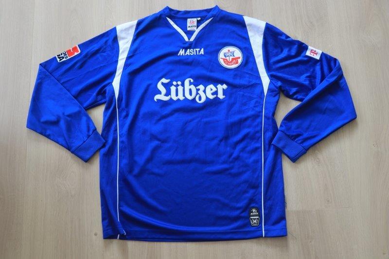 Hansa Rostock 07-08 Away, Nr. 26 Menga (Matchworn)