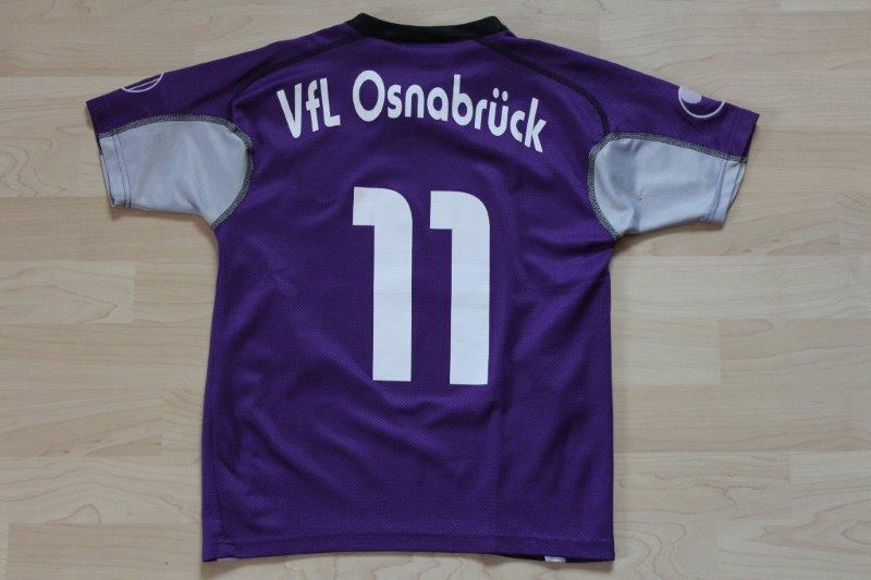 VfL Osnabrück 2005/06 Nr. 11, TravelCheck Beflockung (evtl. Minikickers Matchworn)
