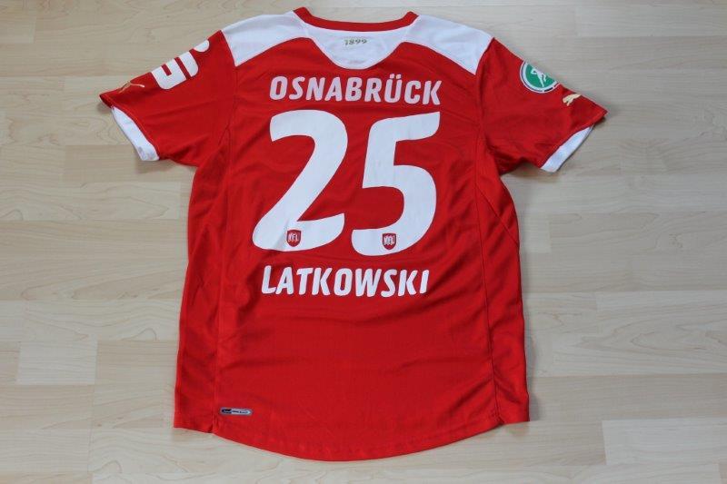 VfL Osnabrück 2011/12 Away, Nr. 25 Latkowski (Matchworn)