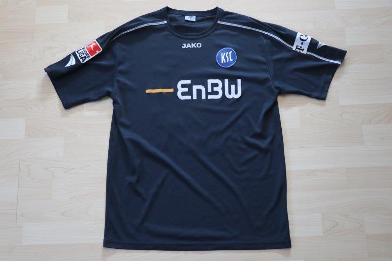 Karlsruher SC 2007/08 Third mit Autogramm, Nr. 10 Porcello (Matchworn)