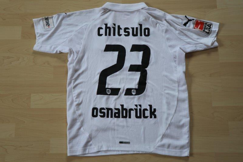 VfL Osnabrück 2007/08 Away, Nr. 23 Chitsulo (Matchworn)