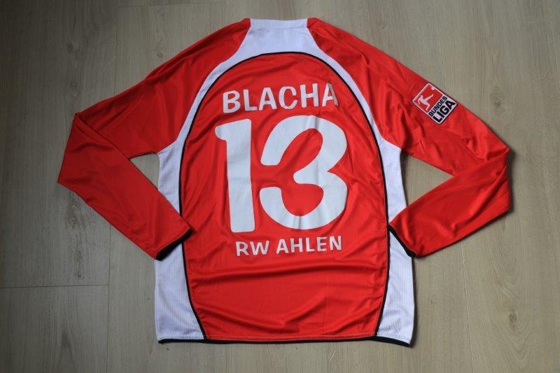 Rot Weiß Ahlen 2009/10 Heim, Nr. 13 Blacha (Matchworn)