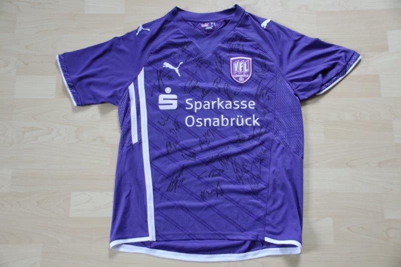 VfL Osnabrück 2009/10 Heim mit Autogrammen