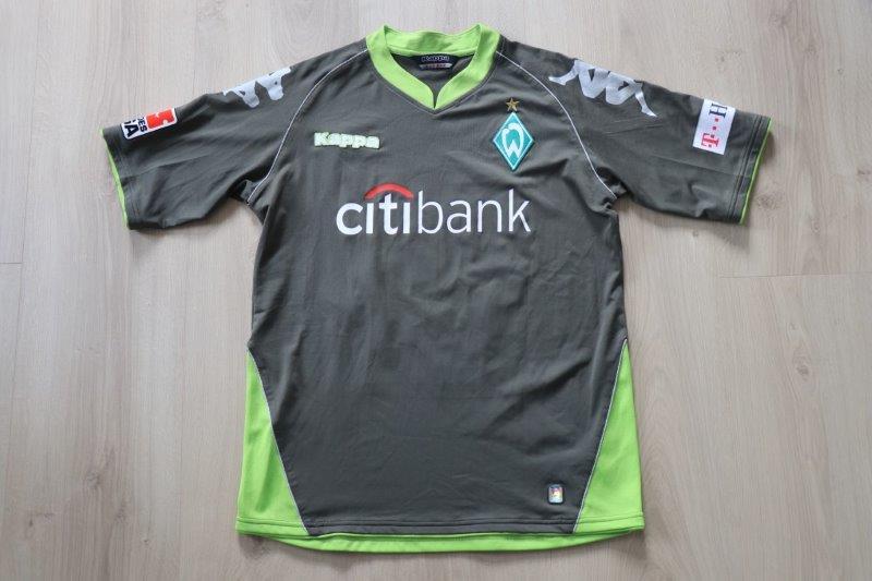 SV Werder Bremen 07-08 Third, Nr. 15 Owomoyela (Matchworn)