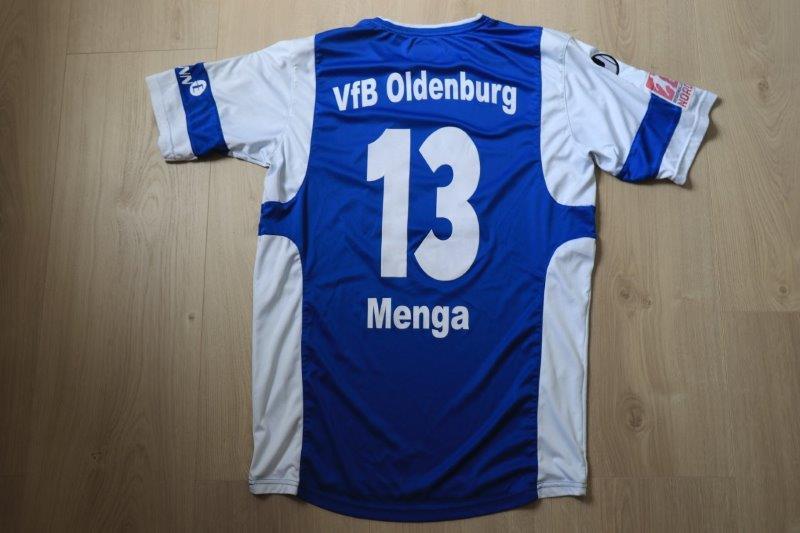 VfB Oldenburg 13-14 Heim, Nr. 13 Menga (Matchworn)