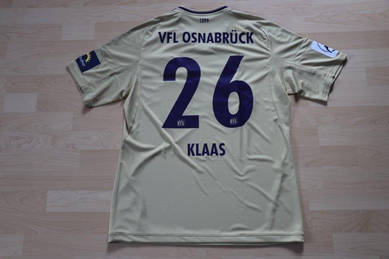 VfL Osnabrück 2017/18 Away, Nr. 26 Klaas