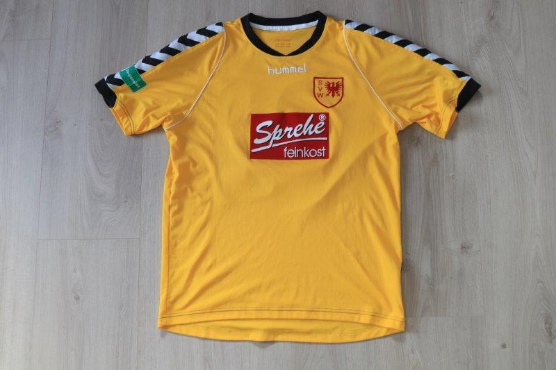 SV Wilhelmshaven 2011/12 Heim, Nr. 22 Sembolo (Matchworn)
