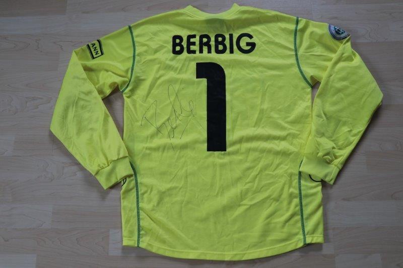 VfL Osnabrück 2004/05 Torwart mit Autogramm, Nr. 1 Berbig