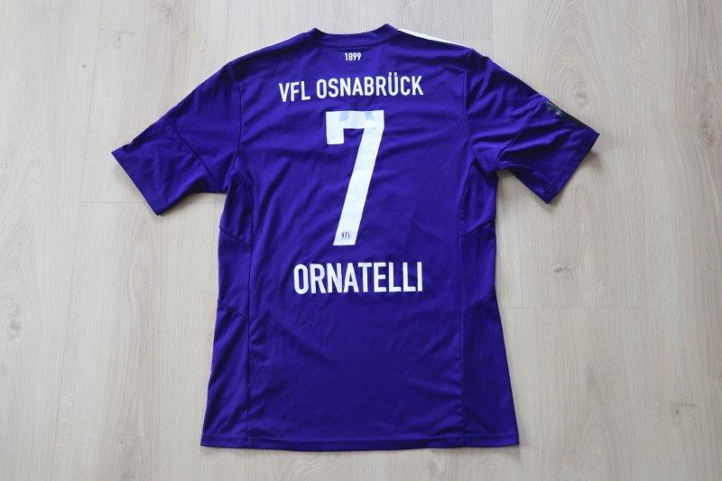 VfL Osnabrück 2015/16 Heim, Nr. 7 Ornatelli (Matchworn aus seinem letzten Spiel für den VfL, gg. Fortuna Köln 14.05.16)