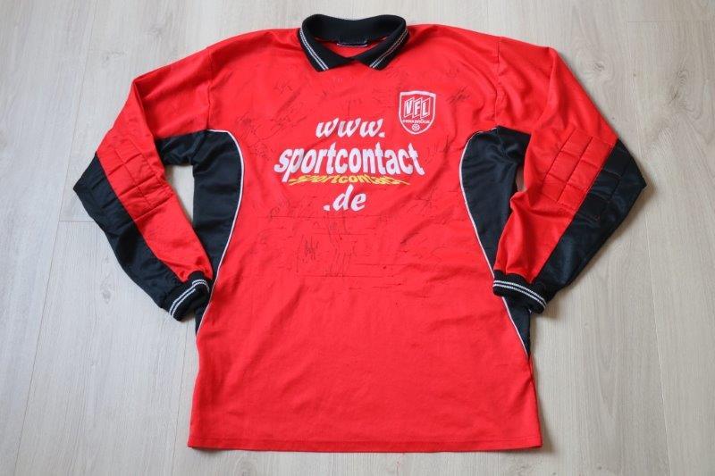 VfL Osnabrück 2001/02 Torwart A-Jugend mit Autogrammen, Nr. 1 (Matchworn)