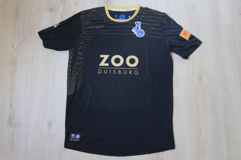 MSV Duisburg 2014/15 Away, Nr. 9 De Wit (Matchworn/-vorbereitet)