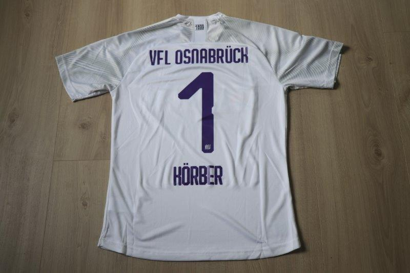 VfL Osnabrück 19/20 Auswärtstrikot Torwart, Nr. 1 Körber