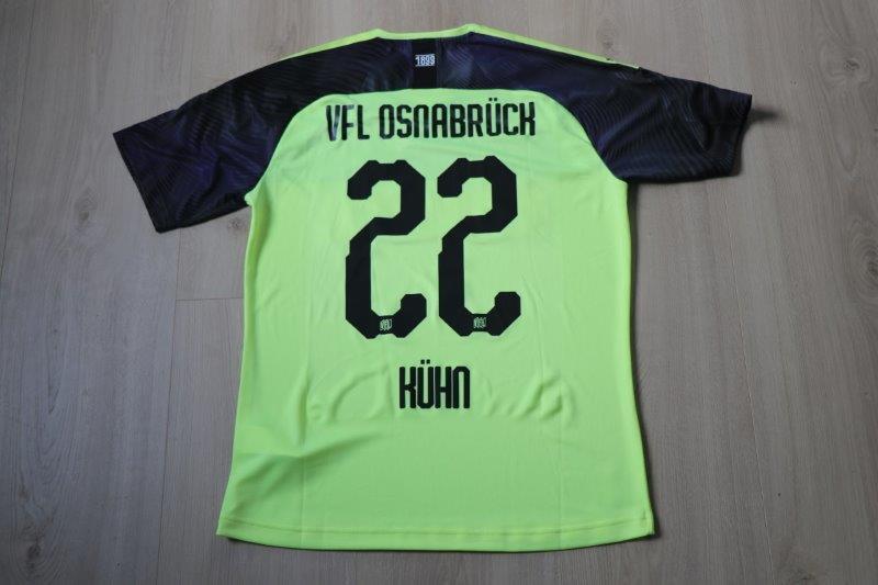 VfL Osnabrück 19/20 Ausweichtrikot Torwart, Nr. 22 Kühn