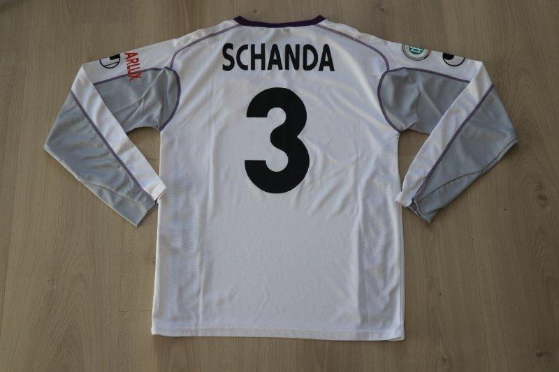 VfL Osnabrück 2006/07 Away langarm mit Autogramm, Nr. 3 Schanda (Matchworn)
