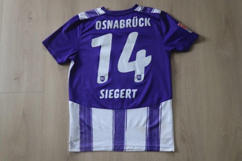 VfL Osnabrück 2010/11 Heim, Nr. 14 Siegert (Matchworn)