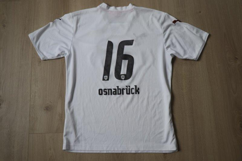 VfL Osnabrück 2007/08 Away Jugend, Nr. 16 (Matchworn)