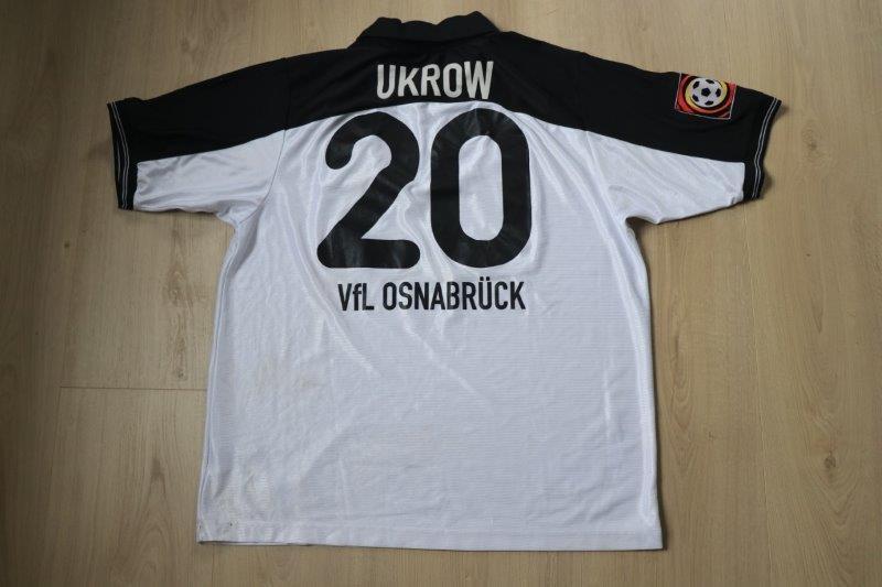 VfL Osnabrück 2000/01 Away, Nr. 20 Ukrow (Matchworn gegen St. Pauli 08.04.01)