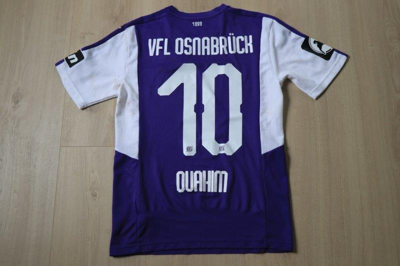 VfL Osnabrück 18/19 Heim, Nr. 10 Ouahim (Derby-Matchworn gg. Münster 16.02.19)