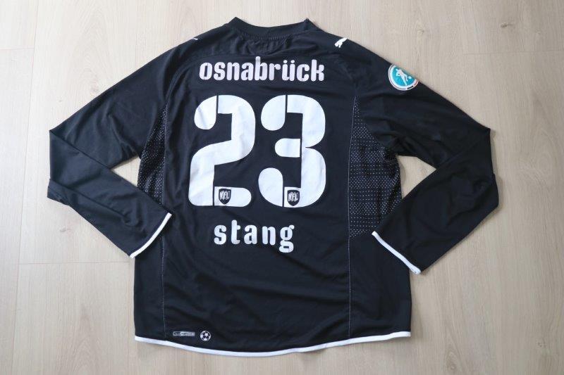 VfL Osnabrück 2009/10 Third Langarm, Nr. 23 Stang (Matchworn)
