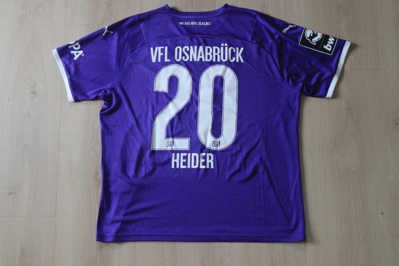 VfL Osnabrück 2021/22 Heim, Nr. 20 Heider