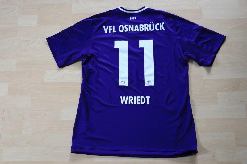 VfL Osnabrück 2017/18 Heim, wo das Herz schlägt, Nr. 11 Wriedt