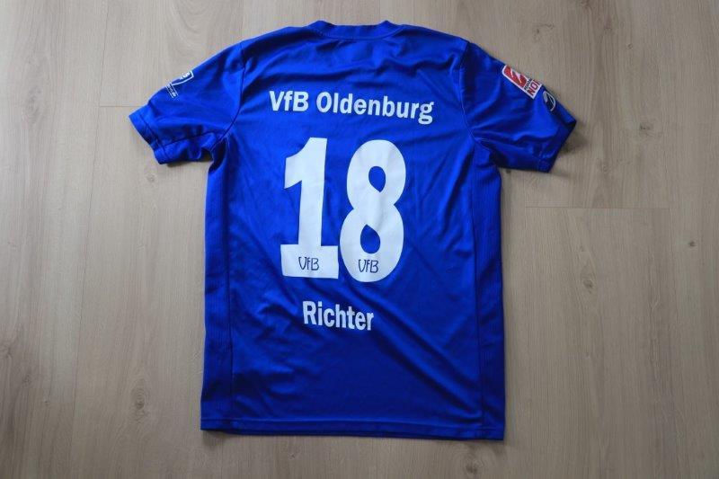 VfB Oldenburg 2016/17 Heim, Nr. 18 Richter (Matchworn)