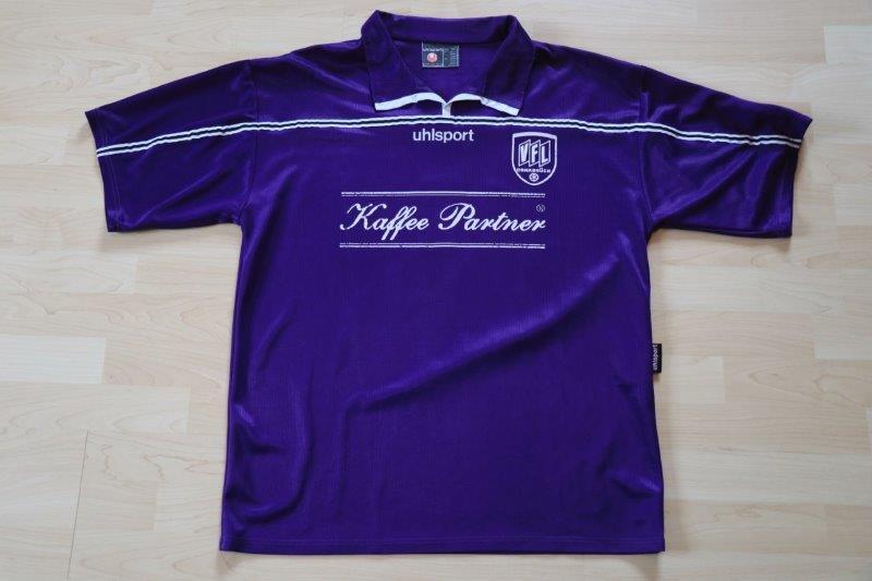 VfL Osnabrück 2001/02 Heim mit Autogramm, Nr. 1 Brunn