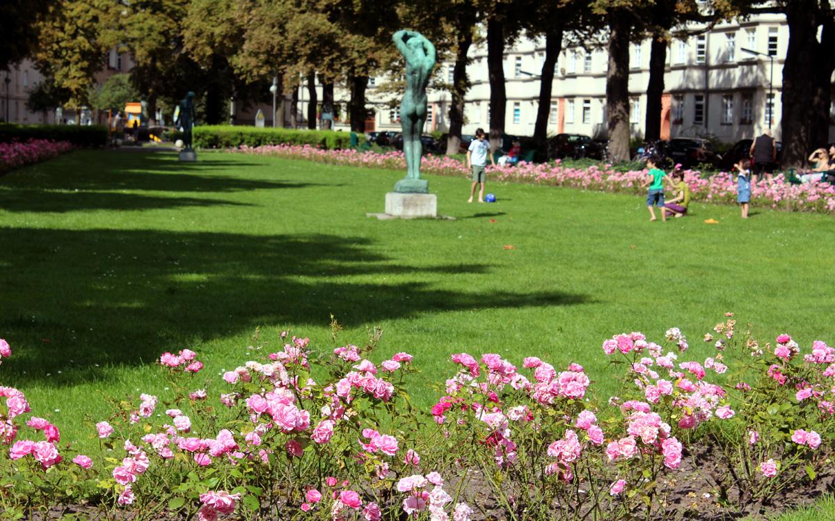 Gartendenkmal Ceciliengärten. Foto: Helga Karl