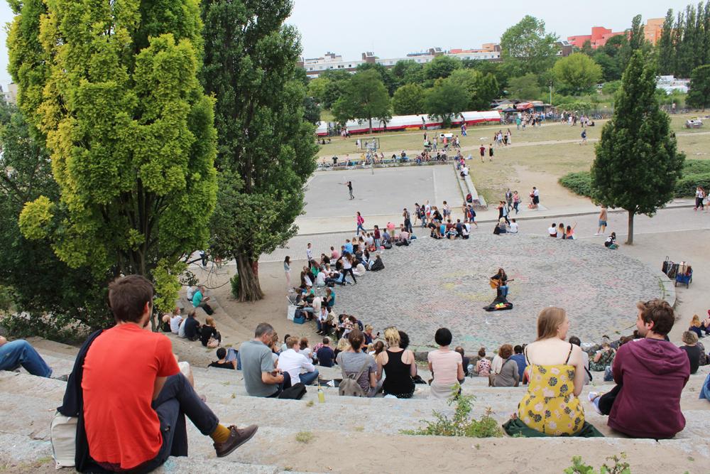 Mauerpark Berlin. Foto: Helga Karl