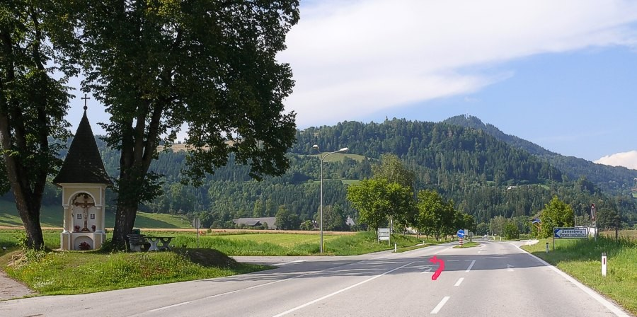 Marterl in Powirtschach