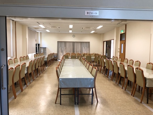 2階会食ホール