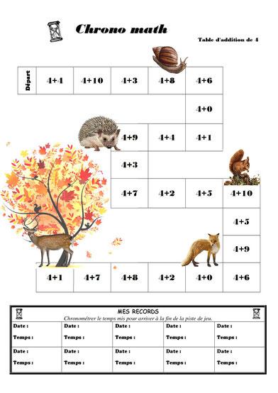 Tables d 39 addition bondi et chrono 39 math fiches de - Logiciel educatif fr math tables addition ...