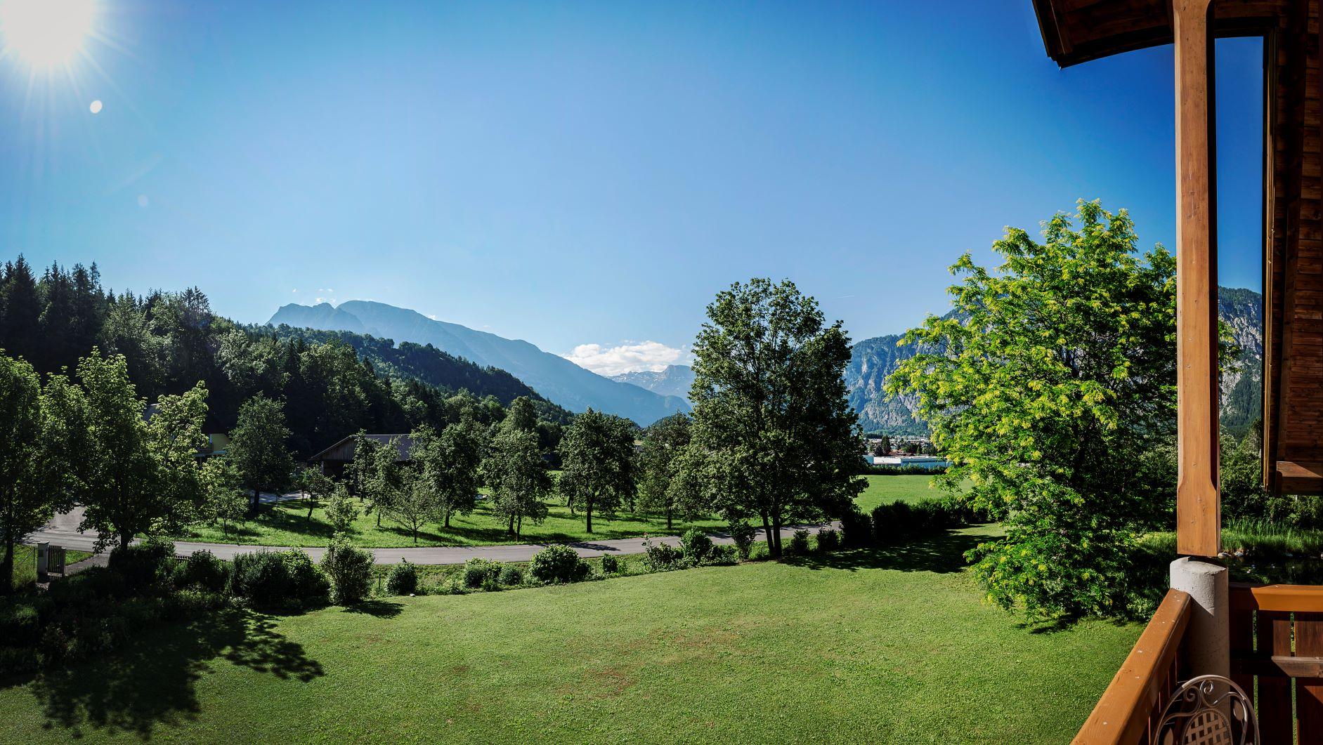 Ausblick Villa Anna Bad Goisern