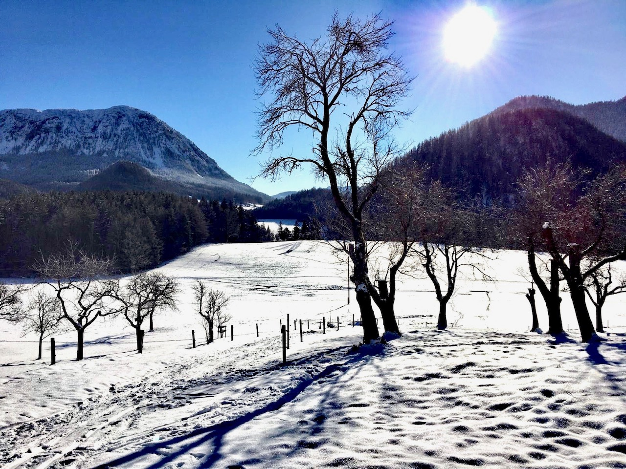 Winter in Grundlsee