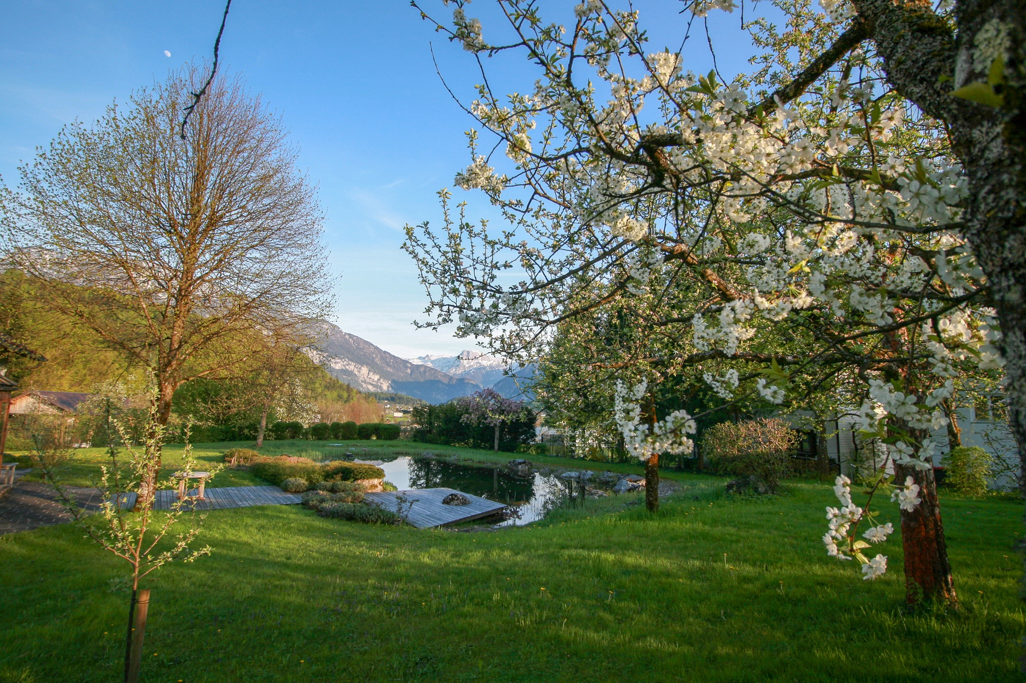 Spring at Villa Anna Bad Goisern