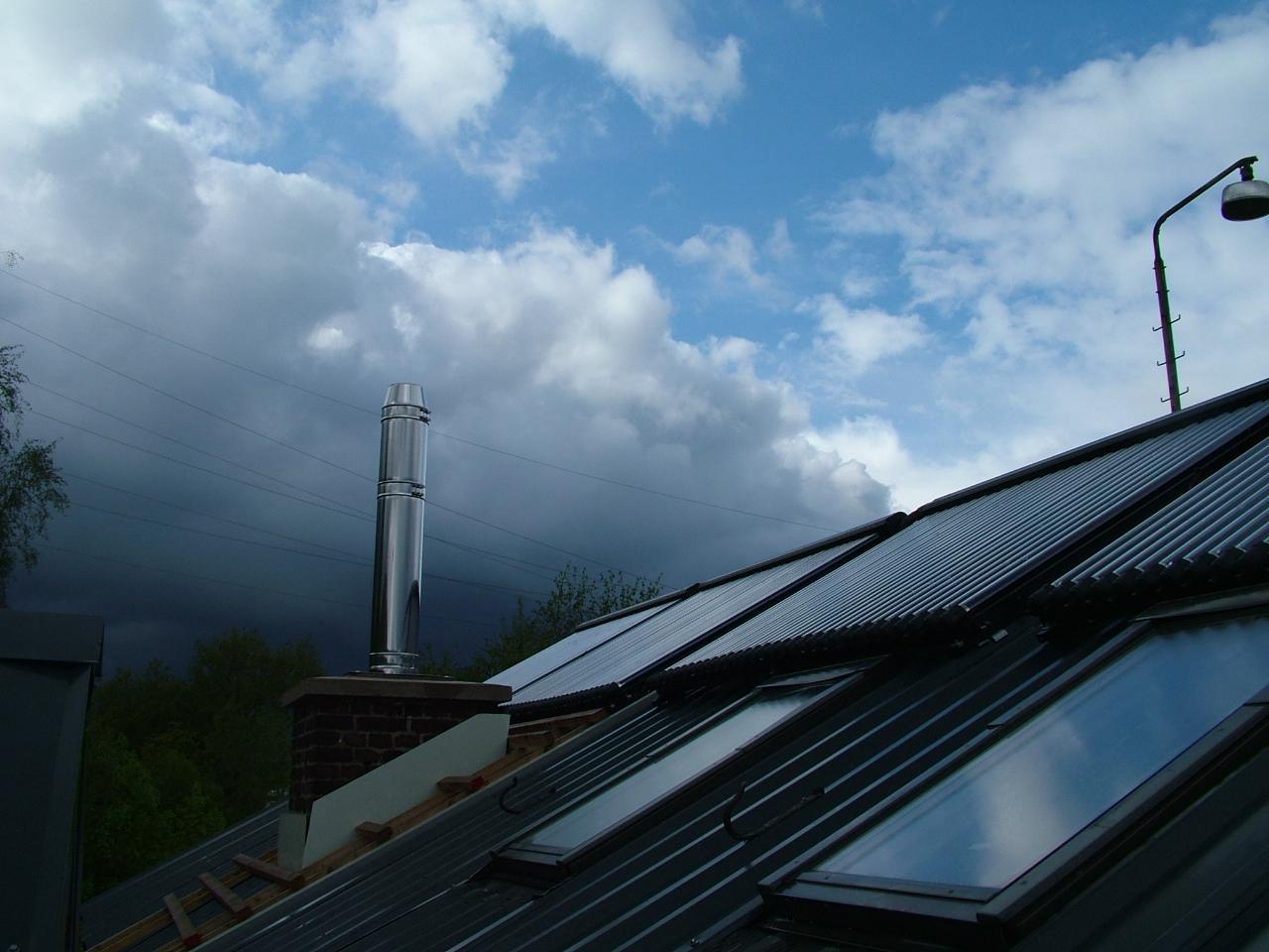 Installation der Solaranlage