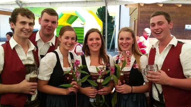Ausflug nach Alpbach in Tirol - unsere Marktenderinnen