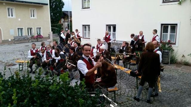 Sommerkonzert Dorfplatz Bad Vigaun 2016