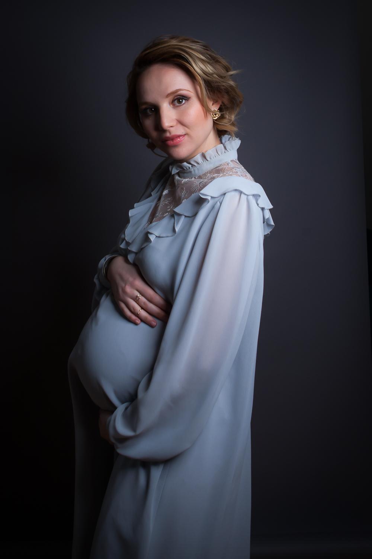 Vintage Babybauch Shooting 1950´s - Nadine Maslowski - Maskenbildnerin - Photoproduction by Melina Johannsen