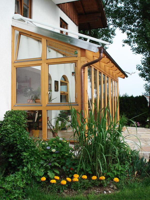 Wohnräume vergrößern mit einem Wintergartenanbau