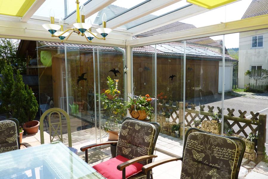 Transparenz nach allen Seiten – der Wintergarten als Glashaus
