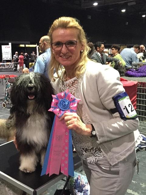 Monika und Yaro, v1 und bester Jugendhund, herzlichen Glückwunsch!