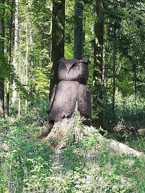 Wächter im Langenberger Forst