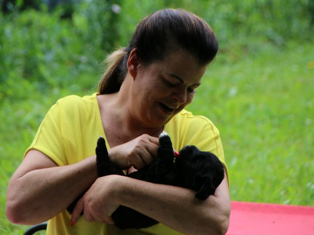 Manuela mit Mia