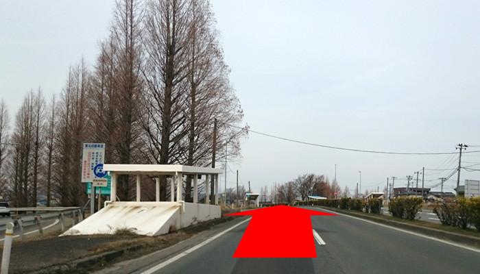 郡山ICより国道49号線を会津方面に向かう